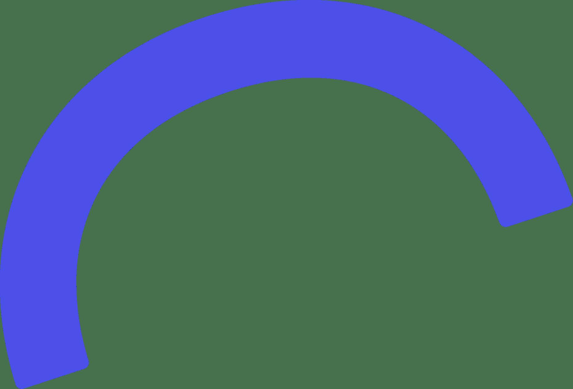 purple half circle